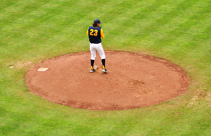 Lefty Justin Jones will likely throw the second game in this weekend's series against the Cardinal.