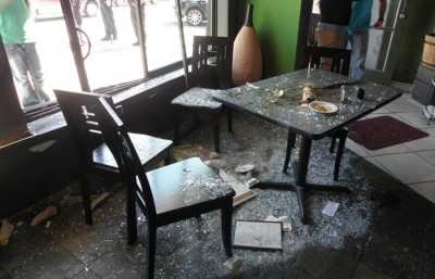 This past Thursday, a car crashed into a Japanese restaurant Sushi 29 on Solano Avenue.