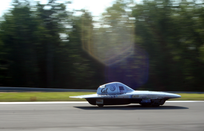 Berkeley's Solar Vehicle Team, CalSol, placed fourth at the 2012 American Solar Challenge.