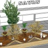This conceptual design for a parklet is one of several being proposed by the North Shattuck Association and various businesses in the Gourmet Ghetto.