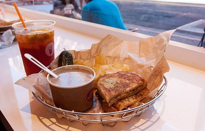 The Melt is a new sandwich shop which recently opened on Telegraph Avenue and Channing Way.