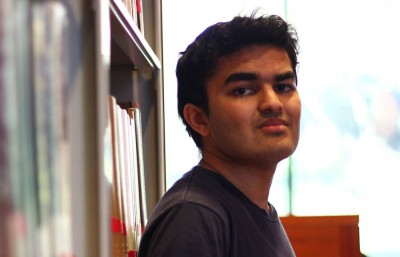 Sophomore Tanay Kothari  took 13 Advanced Placement exams in high school and plans to graduate in two and a half years