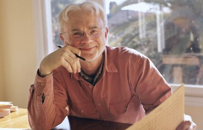 """Berkeley resident, John Adams (pictured above), wrote the San Francisco Symphony's modern rendition of """"Harmonielehre"""" and """"Short Ride in a Fast Machine,"""" that won for Best Orchestral Performance at the Grammys."""