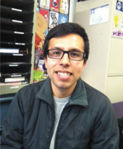 Jesus Chavez is a fourth-year UC Berkeley student affected by the DREAM Act legislation.