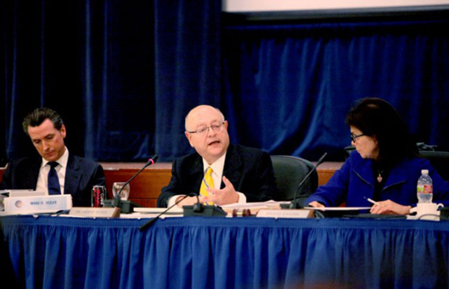 The UC Board of Regents will meet next week at the UCSF Mission Bay campus.