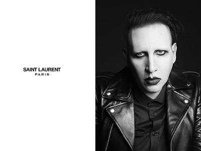 marilyn manson saint laurent