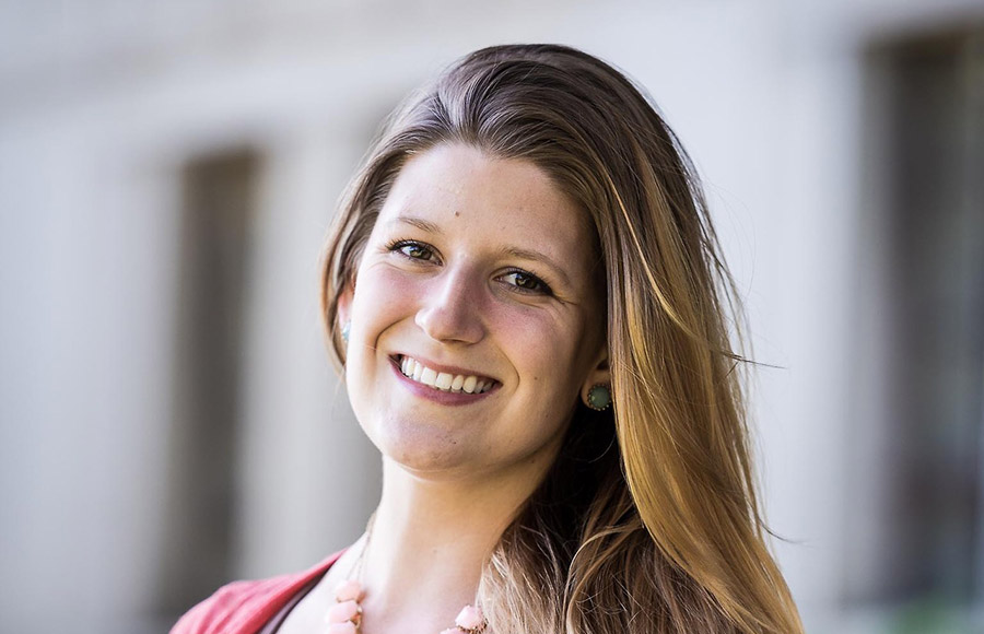 UC Berkeley student Rebecca Peters is one of 62 college juniors who received the Harry S. Truman Scholarship.