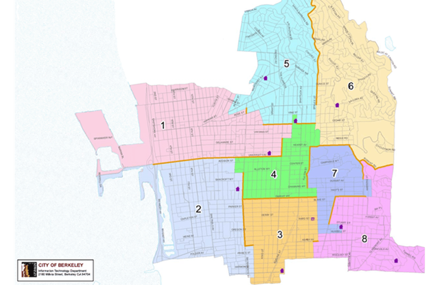 City Council To Consider Final Two Redistricting Maps Tuesday: Map Uc Berkeley Admitted Students At Slyspyder.com