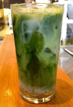 Green Milk Tea. David Lau, Courtesy