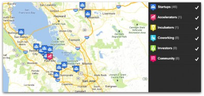 Mapped in Silicon Valley