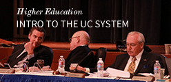Higher Education: Intro to the UC System