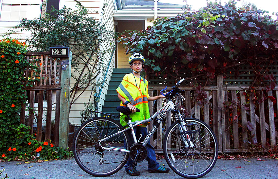 Zeke Gerwein began biking recreationally when he was nine years old. Three years later, he biked from the California-Mexico border to Seattle.