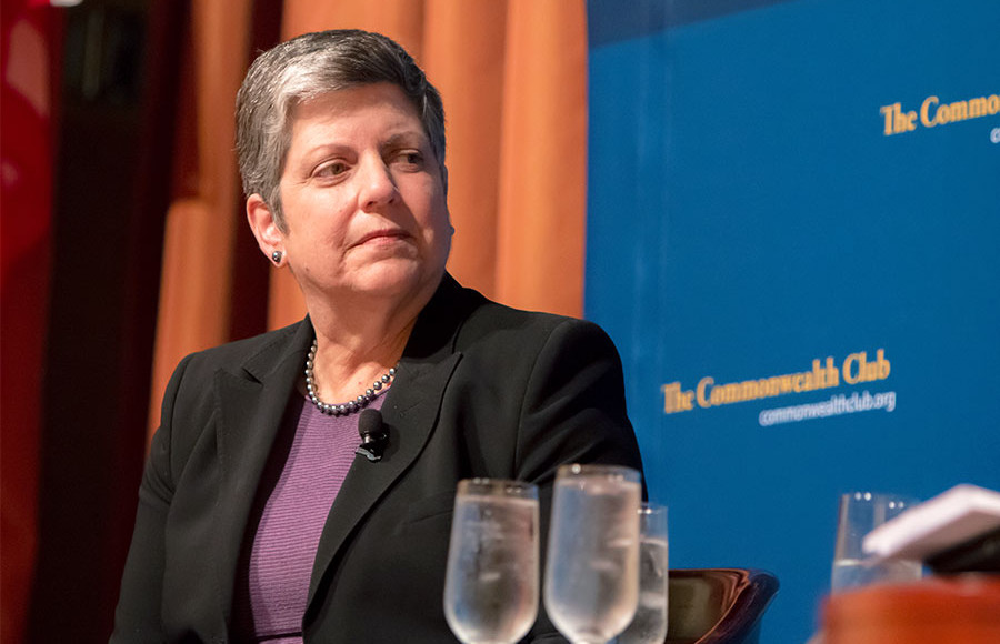 UC President Janet Napolitano has faced widespread opposition since being confirmed in July.  Recently, however, some of her detractors have shown a willingness to cooperate with her.