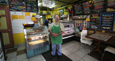 Jamal, owner and operator of both Banana Sam's and Hummingbird Cafe on Euclid Avenue, emigrated from Syria to the United States in 1985 at the age of 24. Jamal left Syria to study in the United States and escape the country's escalating violence, but was unable to return for 20 years.