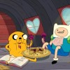 Adventure Time: Finn and Jake eat some pie