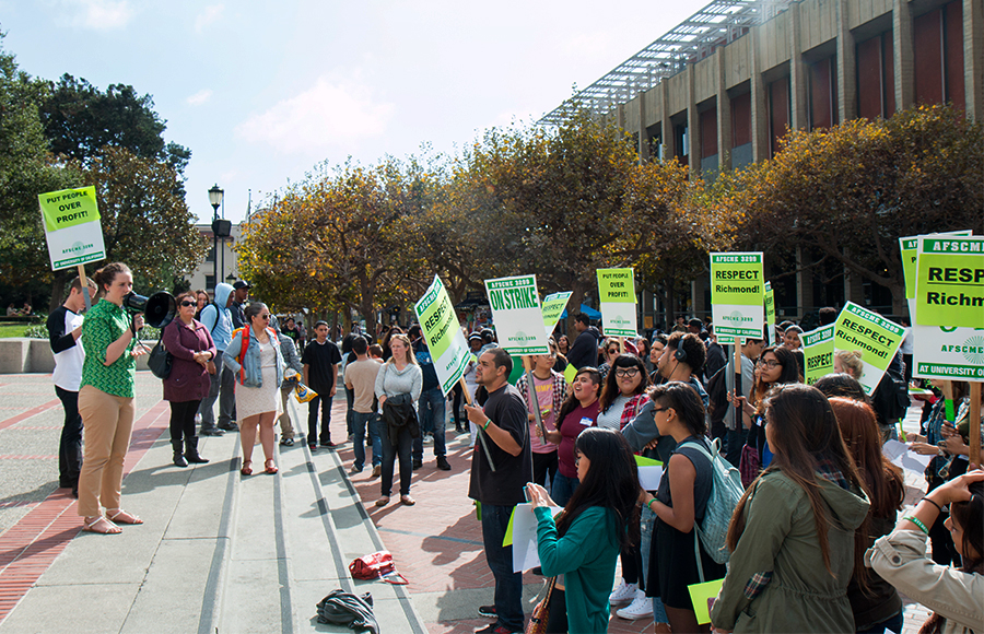 Students Workers Demand Community Benefits Agreement For Richmond