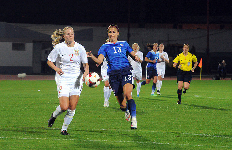 Alex Morgan To Lead US Into Womens World Cup