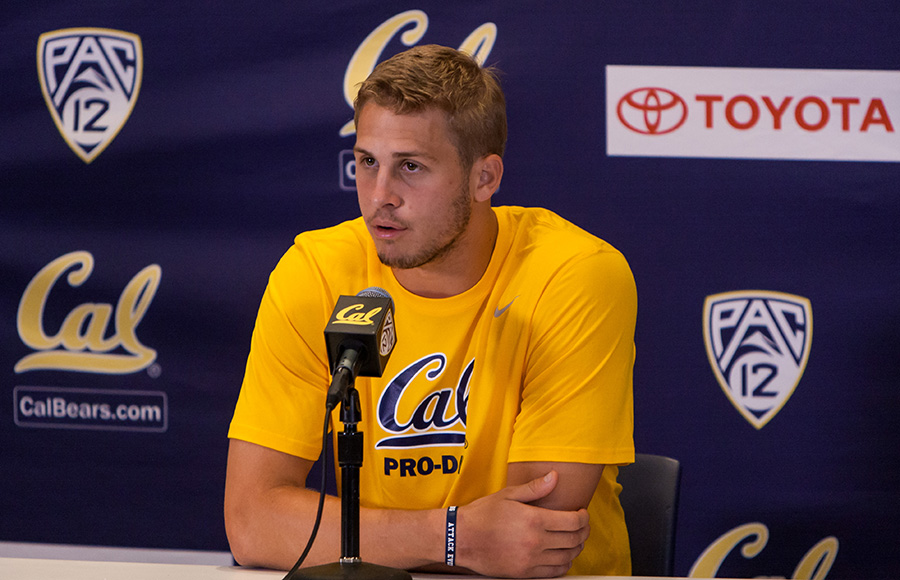 Jared goff gets surgery to grow hands for nfl scouts the for Goff pictures