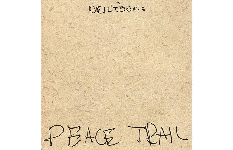 Neil Young Peace Trail | Reprise Records Grade: A-