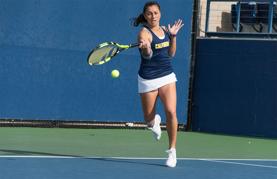 Cal women's tennis clinches spot in ITA Indoor Championship