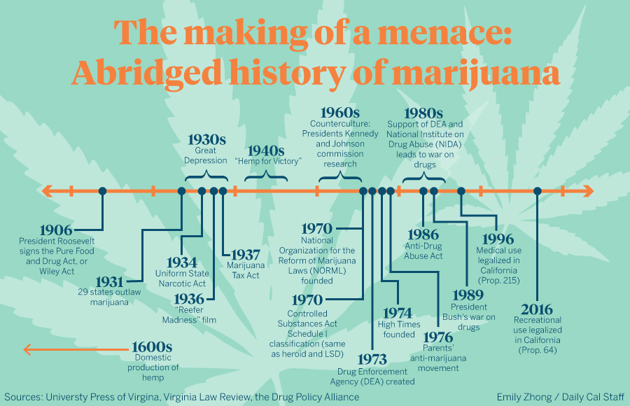 the history of marijuana in the new world Marijuana's early history in the united states when and where did weed as a narcotic enter the new world it systematically chose marijuana as their new.