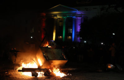 When Milo Yiannopoulos previously came to the UC Berkeley campus Feb. 1, his event was canceled due to fiery protests that erupted on Sproul Plaza.