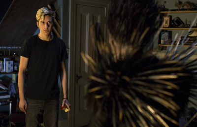 "Nat Wolff stars as Light in Netflix's new live-action film adaptation of the anime ""Death Note"""