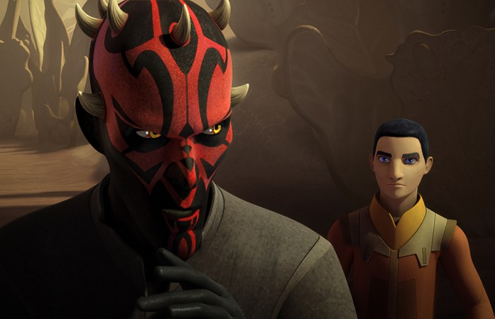 DARTH MAUL, EZRA BRIDGER