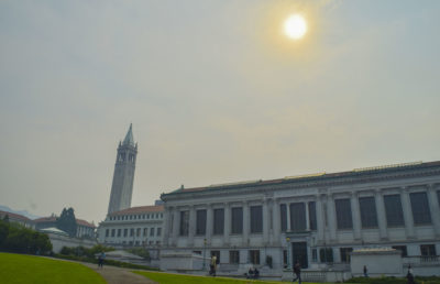 Smog and smoke engulfs Berkeley
