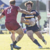 California over San Diego State at the West Coast Sevens Collegiate Rugby at Treasure Island, San Francisco on October 22, 2017 in San Francisco, California. © 2017 Alex Ho (aho_171022_8326_03)
