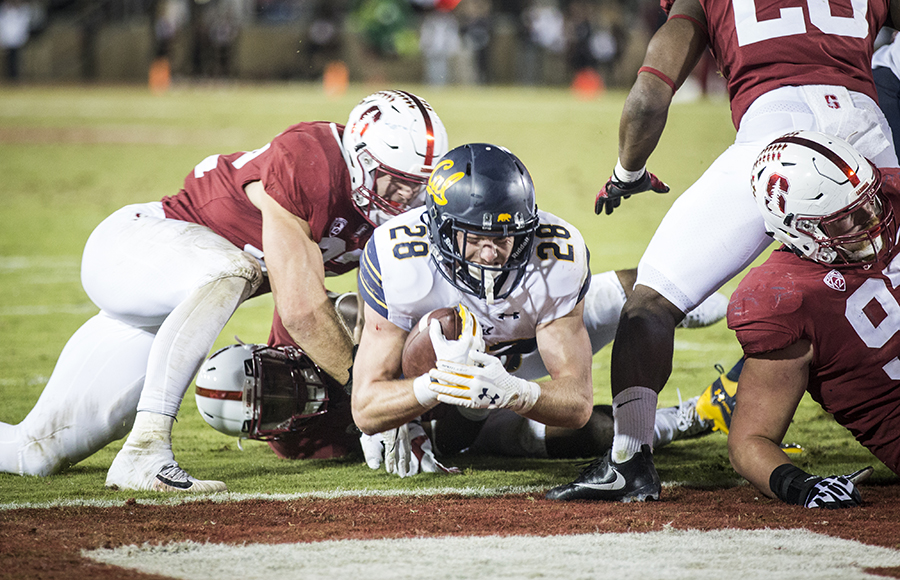 Cal falls to Stanford, 17-14, in 120th Big Game