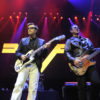 Weezer On Stage At LIVE 105 Not So Silent Night 2017