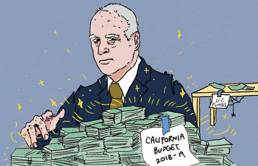 Gov. Jerry Brown undermines UC students with his lackluster budget proposal