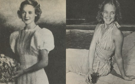 Higgins as a college student and sorority member of Gamma Phi Beta at UC Berkeley.