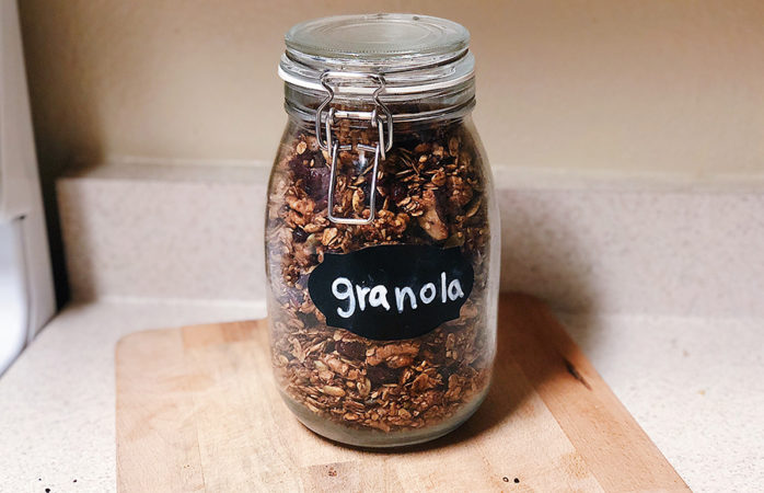 Let's go nuts: Easy, healthy and nutty granola recipe