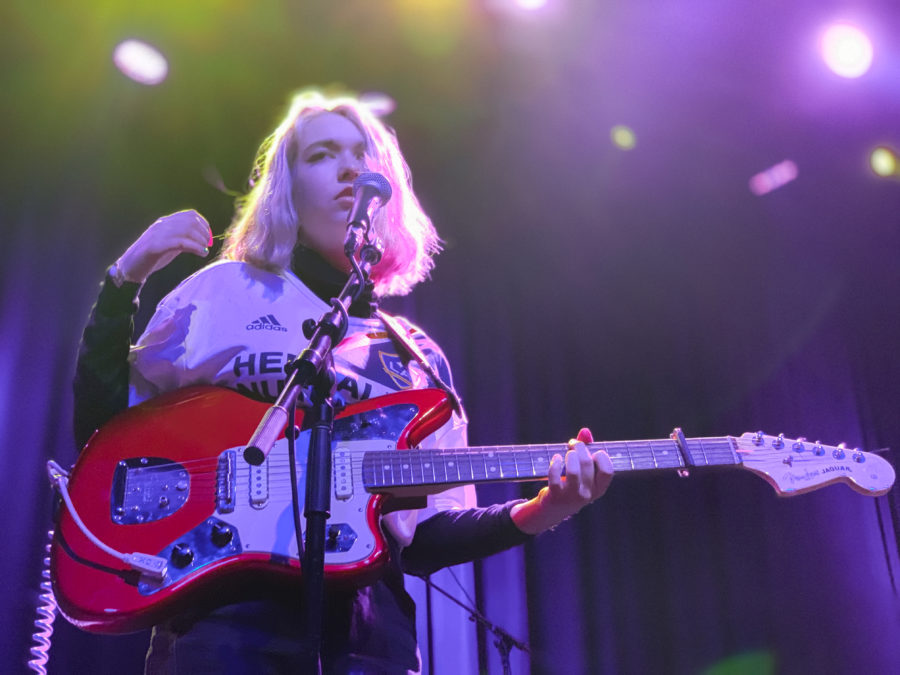 Lindsey Jordan, known as Snail Mail, performs in Fillmore