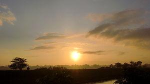 Full sunrise