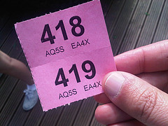 Raffle tickets, Brent #LibDems style