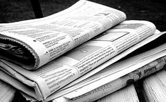 Newspapers B&W (5) (Photo credit: NS Newsflash)
