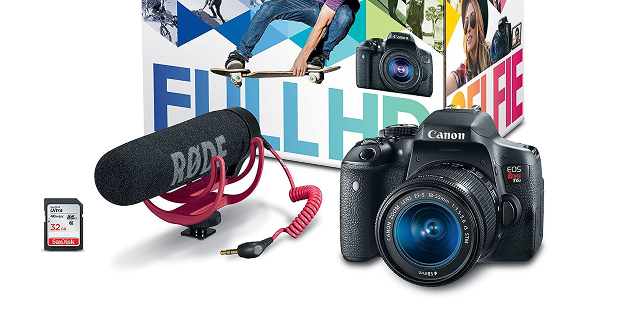 Fullsize Of Canon Rebel T6i Bundle