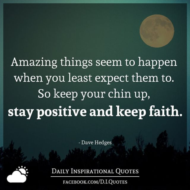 Your So Amazing: Amazing Things Seem To Happen When You Least Expect Them