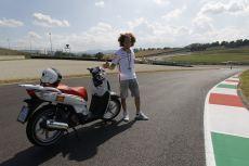 Una vuelta al circuito de Mugello con Marco Simoncelli