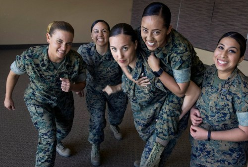 Gallant Female Marines Fight Back Against Nude Photos Scandal Daily News Tia Torres Husband Name Tia Torres Husband Photo