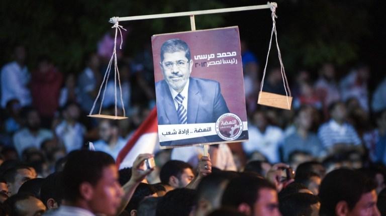 Supporters of Muslim Brotherhood's Egypt