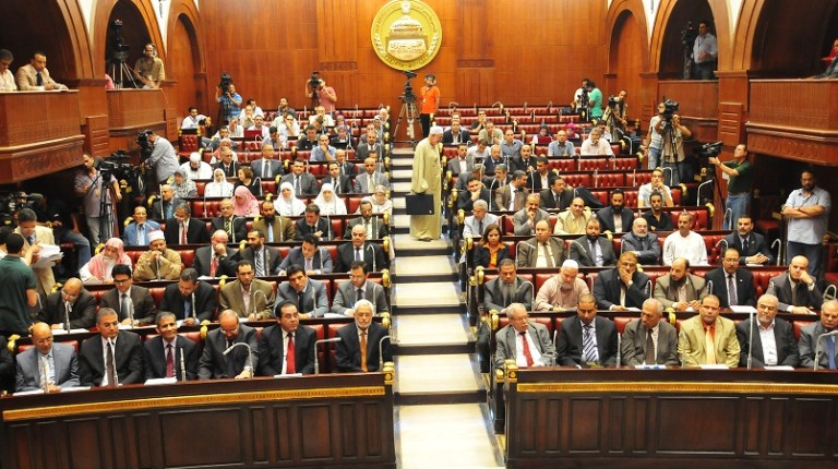 Constitutional Assembly sits in the Shura Council chamber (File photo)