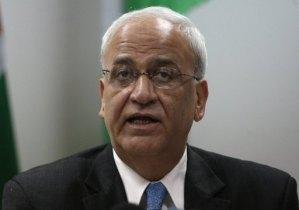 Palestinian negotiator Saeb Erakat (AFP Photo)