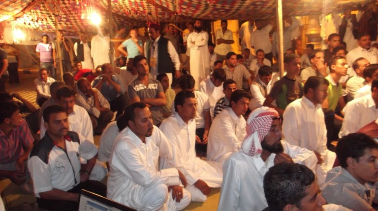 Political gathering in Marsa Matrouh (File photo by Mohamed Farag)