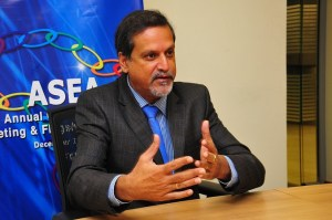 Daily News Egypt talks to ASEA president, Sunil Benimadhu. (DNE/ Hassan Ibrahim)
