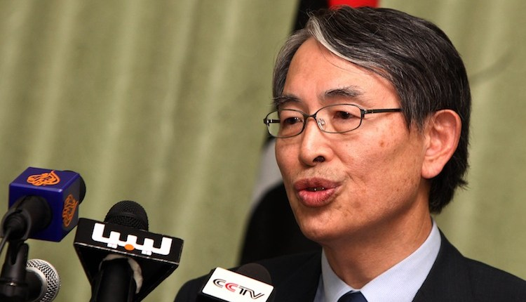 The President of the International Criminal Court, South Korean Sang-Hyun Song speaks during a press conference July 2 announcing Libya decided to free a legal team detained after visiting slain leader Moammar Gadhafi's jailed son. (Mahmud Turkia/ AFP/ GettyImages)