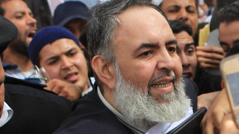 Salafi preacher and former presidential candidate Hazem Salah Abu Ismail  (AFP/ FILE PHOTO/KHALED DESOUKI)